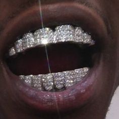 my new grillz raw af flexing on haters Boujee Aesthetic, Bad Girl Aesthetic, Aesthetic Grunge, Girl Grillz, Diamond Grillz, Tooth Gem, Grills Teeth, Mouth Grills, Gangster