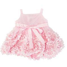 Bonnie Baby Infant Girl Rosy Soutache Bubble Dress #VonMaur #BonnieBaby #LightPink