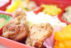 トマトランチ:鶏の唐揚げ/カレー味です♬