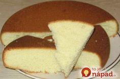 Najjednoduchšie cesto na torty, koláče a zákusky! - To je nápad!