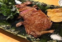 #ステーキ #五島牛 #肉 #居酒屋 #五島伊勢丸 #茅場町 #東京 #steak #izakaya #kayabatyo #tokyo #yummy