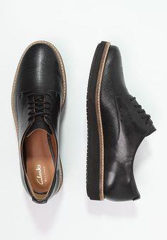 Clarks GLICK DARBY - Zapatos con cordones - black - Zalando.es
