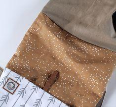 DIY-Tutorial Rucksack | Spoonflower Blog Mochila Tutorial, Pouch Tutorial, Diy Tutorial, Sewing Hacks, Sewing Tutorials, Sewing Projects, Sewing Patterns, Diy Backpack, Backpack Pattern