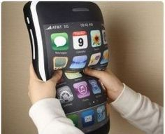 really cute iPhone Shaped Pillow