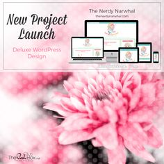 The Nerdy Narwhal Project Launch:  WordPress Deluxe Blog Design, Lifestyle Blog http://thenerdynarwhal.com/