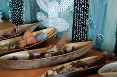 Seedpod canoes. Black Cactus. by Geninne.