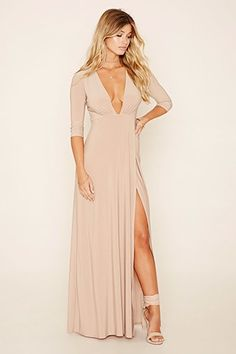 5ca368761bf4 Asymmetrical-Hem Maxi Dress Fancy Maxi Dress