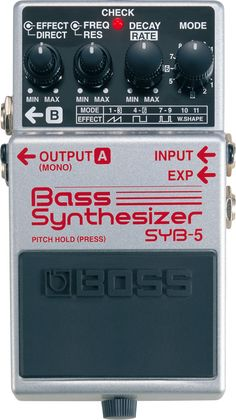 BOSS - SYB-5 | Bass Synthesizer