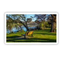 Peace and Serenity by Lake Weeroona - Bendigo, Victoria Sticker