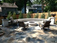 The flagstones we got from Menards for our walking path Pave the