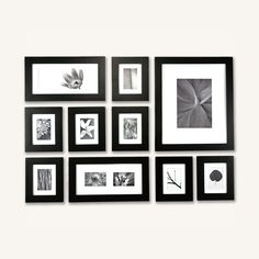 black picturewall frame kit 2 includes 10 picture frames with templatesthis will make hanging pictures so easy layout with mirror in the middle