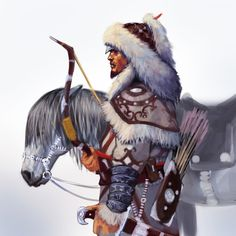 Assassin Creed Qulan Gal( Mongolian) by Razielmn.deviantart.com