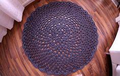 Valpuri: DIY: Virkattu matto