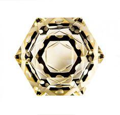 Fantasy Cut Gemstone with Sacred Geometry