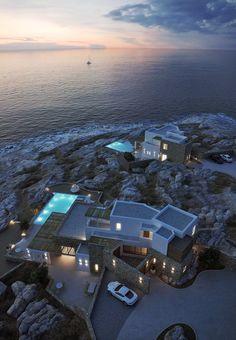 Villas in Mykonos, Greece, 2012