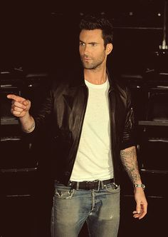 """You! You're coming home with me.""  Adam Levine"