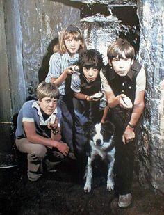 Famous Five original tv series cast Childhood Images, My Childhood Memories, Sweet Memories, Dvd Series, The Famous Five, Original Tv Series, Le Club, Young Celebrities, Poems Beautiful