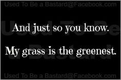 Yes it is! I've been on the grass on the other side, definitely not greater than mine!