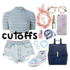 """cutoffs"" by rumpelkiste ❤ liked on Polyvore featuring Umbra, J.Crew, Alessandra Rich, Vans, Karen Walker, Mykita and Christian Dior"