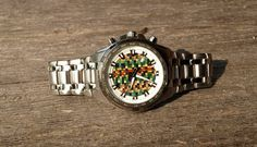 Skate Watch Recycled Skateboards Wrist Watch Made by SecondShot