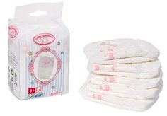 Baby Annabell Nappies 5 Pack ... (Barcode EAN=4001167512630) http://www.MightGet.com/march-2017-1/baby-annabell-nappies-5-pack.asp