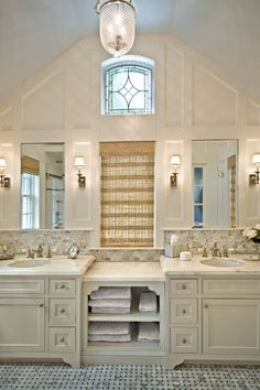 I like the backsplash.. the counter and the lights.. but.. that's about it!