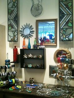 Jewelry on display at The Wear House Accessorized in Williamsville, NY ( Wear House Accessorized) Local Stores, I Shop, Fans, Display, House, Shopping, Jewelry, Floor Space, Jewlery