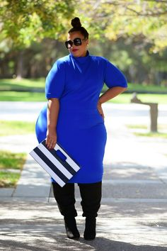 Plus Size Fashion for Women - GarnerStyle   The Curvy Girl Guide: Boots Dont Lie