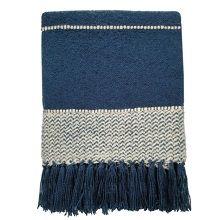 Malagoon Berber Plaid 125 x 150 cm - Dark Blue