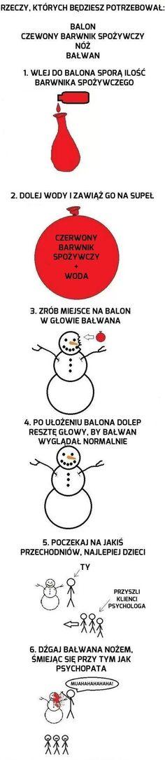 Muszę to zrobić xDD Tylko znając Polskę śnieg będzie w marcu Wtf Funny, Hilarious, Best Memes, Dankest Memes, Polish Memes, Everyday Hacks, Day And Mood, Funny Mems, Everything And Nothing