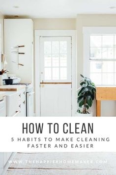 How to Clean: 5 Fast