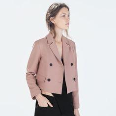 Zara Pink Blazer Brand new with tag Zara Jackets & Coats Blazers