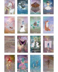 Bohemian Wild is a 36 card lenormand oracle set, inspired by Bohemianism and whimsical folktales. Oracle Tarot, Tarot Decks, Tarot Cards, Occult, Animals Beautiful, Fundraising, Whimsical, Bohemian, Community