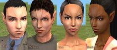 Mod The Sims - Romulan Skins (Requested)