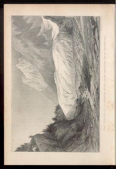 The glacier of La Brevna in the Allée Blanche, from Entrèves,  Rar3333_0013