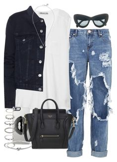 """""""Untitled #3218"""" by hellomissapple on Polyvore featuring One Teaspoon, T By Alexander Wang, Acne Studios, Marc by Marc Jacobs, Lipsy, Forever 21 and Michael Kors"""