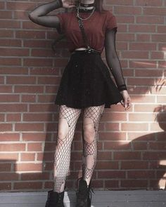 53 Ideas For Fashion Grunge Outfits Skirts