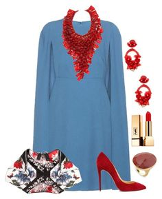 Designer Clothes, Shoes & Bags for Women Apple Shape Fashion, Formal Chic, Church Fashion, Marco Bicego, Classy Women, Classy Dress, Polyvore Outfits, Everyday Outfits, Fashion Designers