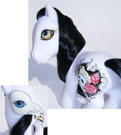 My Little Pony OOAK Phantom by eponyart.deviantart.com on @deviantART
