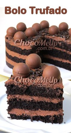 Chocolate Recipes, Chocolate Cake, Sweet Recipes, Cake Recipes, Nutella Cake, Drip Cakes, Cupcakes, Food Truck, No Cook Meals