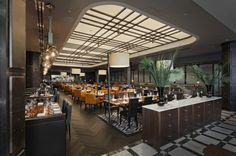 idées pour votre salon restaurant de luxe américain