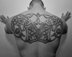 Nordic Tattoo: Nordic vendel age tattoo