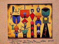 Mwi waite yu - Xul Solar (Oscar Agustin Alejandro Schulz Solari) - argentino (1887-1963)