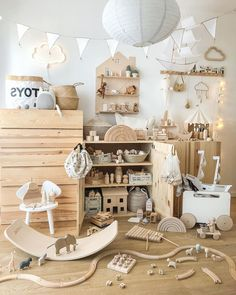 28 Brilliant Playroom Decor Ideas: Discover amazing ideas for a cool playroom makeover ranging from small-scale DIY projects that will take an afternoon or two to complete, to full-scale remodeling and ready-to-build kits. Playroom Decor, Baby Room Decor, Nursery Room, Kids Decor, Boy Room, Kids Bedroom, Nursery Decor, Decor Ideas, Playroom Ideas