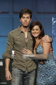 Musical guest Enrique Iglesias and Jersey Shore star Jenni 'JWoww' Farley on July 2010 -- Photo by: Stacie McChesney/NBCU Photo Bank Siesta Key Mtv, Jenni Farley, Snooki And Jwoww, Enrique Iglesias, Sexy Men, Musicals, Celebs, Stars, People