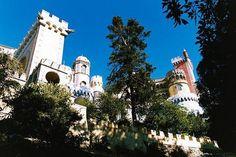 Portugalia - Sintra, pałac z krainy baśni