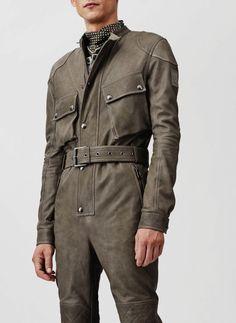 Belstaff Leather jumpsuit