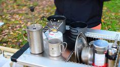 北海道キャンプ アウトドアクッキング!コーヒーとマッシュポテト http://199198.wixsite.com/trivet-hokkaido