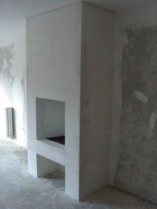 Open haard on pinterest fireplaces country living rooms and wood storage - Open haard keuken photo ...