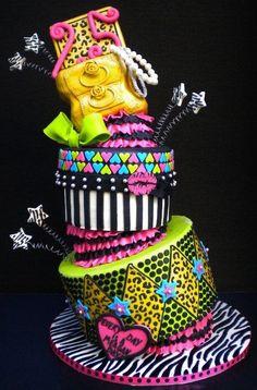 Betsey Johnson Cake - Cake by pieceofcaketx